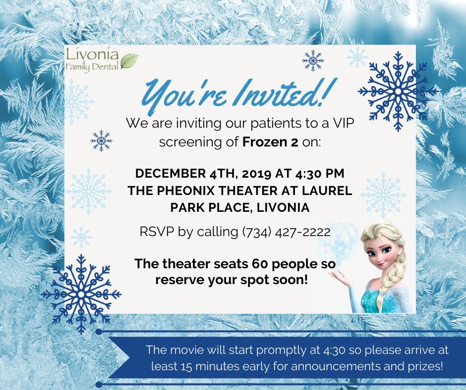 frozen-invite